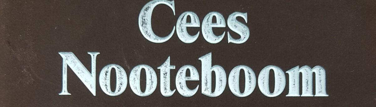 Cees Nooteboom: Die folgende Geschichte